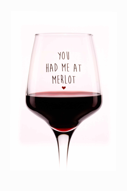 Cauți Pahar You Had Me At Merlot Vezi Ofertele Wineful Ro